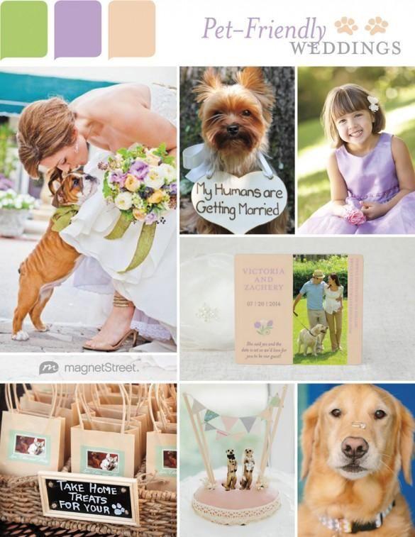 Pet-friendly wedding inspiration