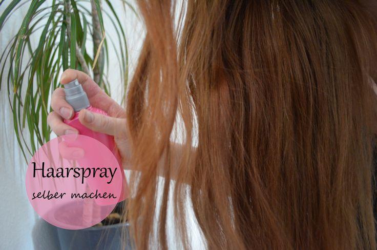 Erfahre hier aus welchen zwei Zutaten Du Dein eigenes und natürliches Haarspray selber machen kannst. Gesünder kannst Du Deine Haare nicht stylen.