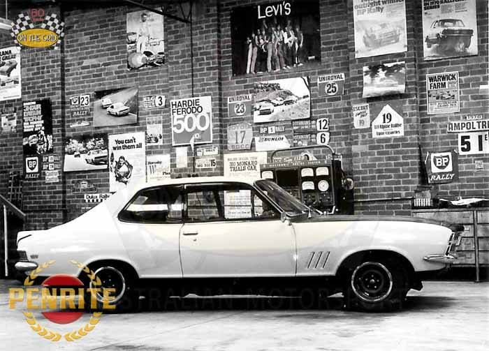 Holden Torana XU-1, first off the line and delivered direct to the HDT Special Vehicle Operations Workshop.
