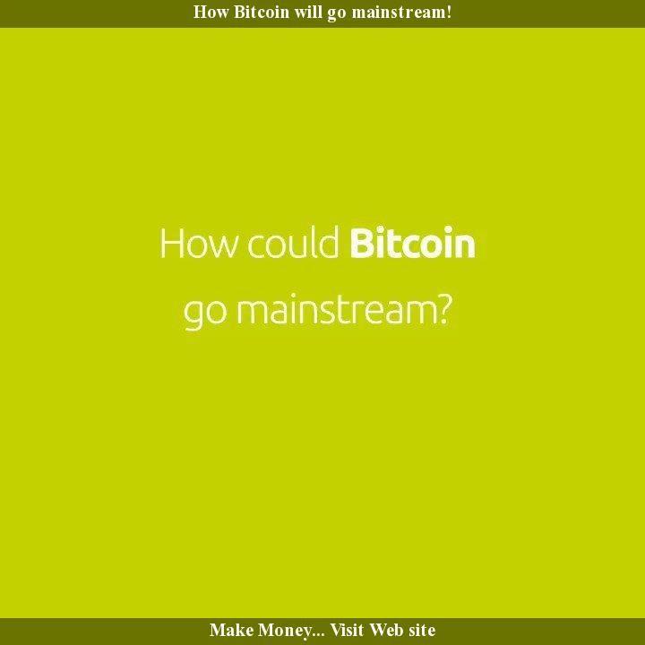 When will crypto go mainstream