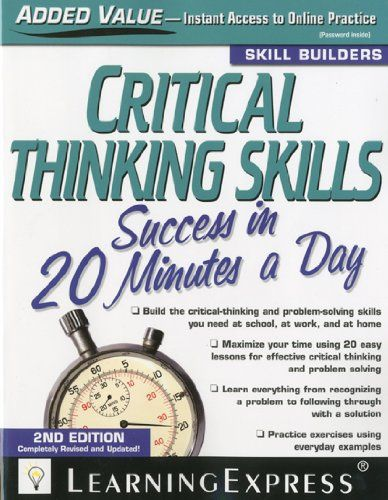 Critical thinking online activities