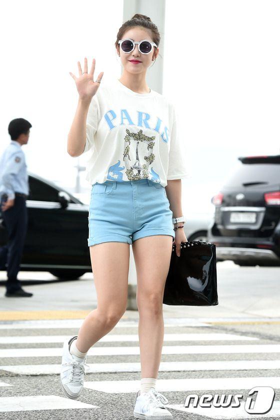 [PHOTOS] 160527 SECRET's Hyosung airport photos (Korea >>> China) - Kpop World
