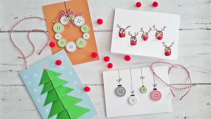 Régimódi üdvözlet: ötletek egyedi ünnepi képeslapokra #képeslap #karácsony #ünnep #diy #kreatív