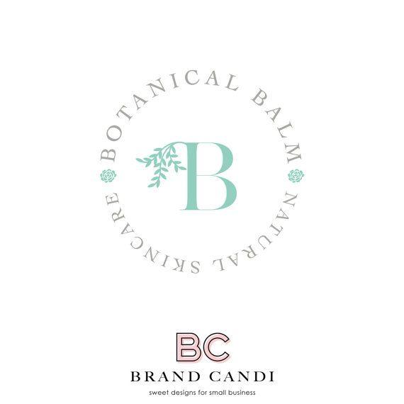 Premade Logo Design - Botanical Logo - Healthcare Logo - Health Logo - Skincare…