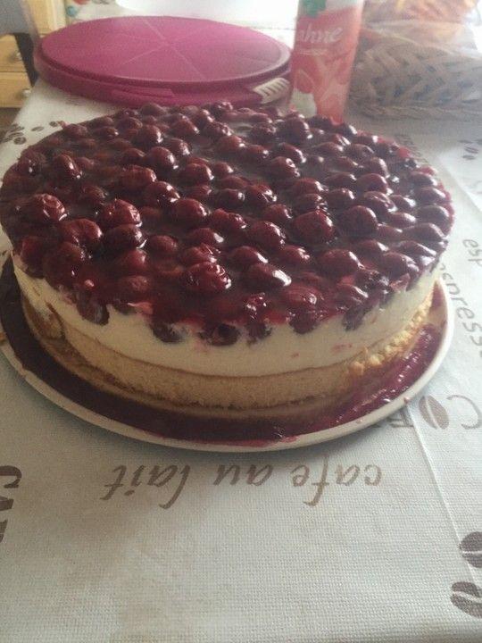 Kirsch - Schmand - Blechkuchen, ein schmackhaftes Rezept aus der Kategorie Frucht. Bewertungen: 961. Durchschnitt: Ø 4,6.