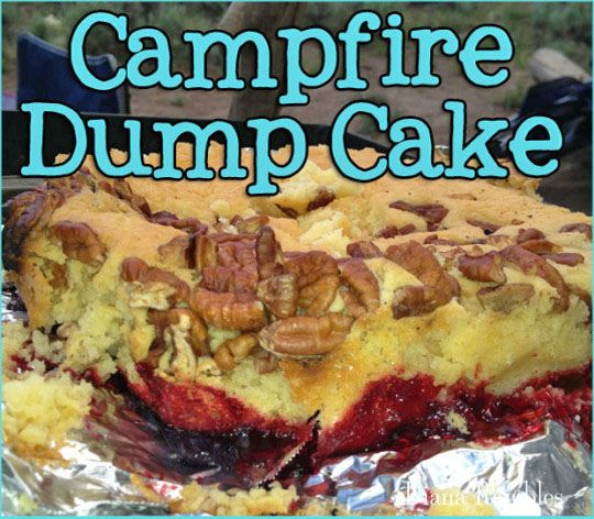 Want an easy but delicious dessert recipe to make while camping? Check out this classic dump cake recipe made in the dutch oven!