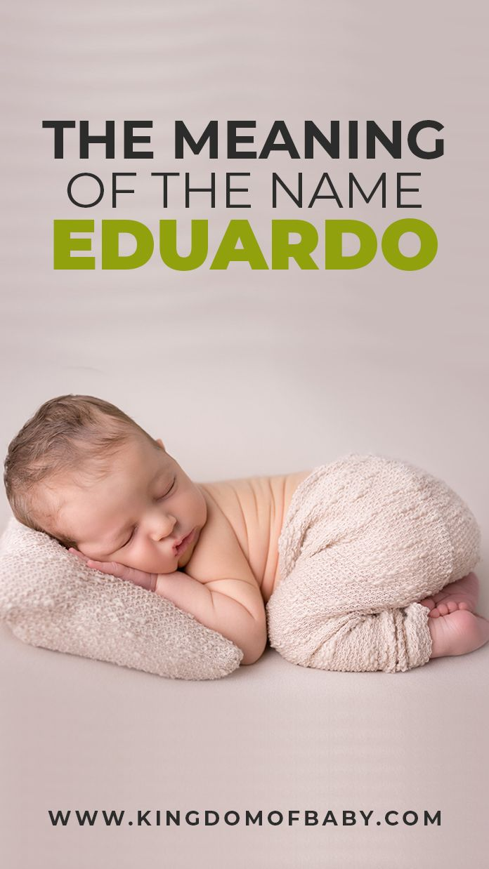 Find out the meaning behind Eduardo Name if you desire it ...