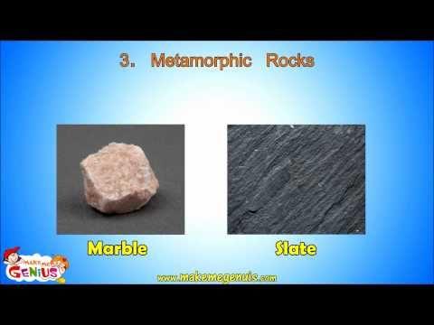 Metamorphic Rocks video for kids by makemegenius.com - YouTube