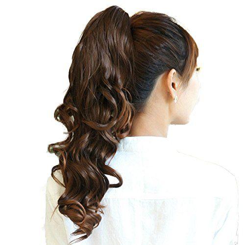 PRETTYSHOP 60 Coda di cavallo di estensioni dei capelli pezzo fibre sintetiche e resistente al calore diversi colori H16