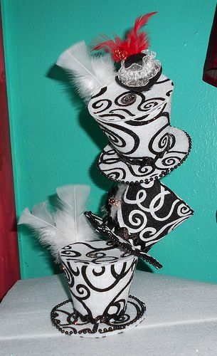 top hat centerpieces for table - Google Search