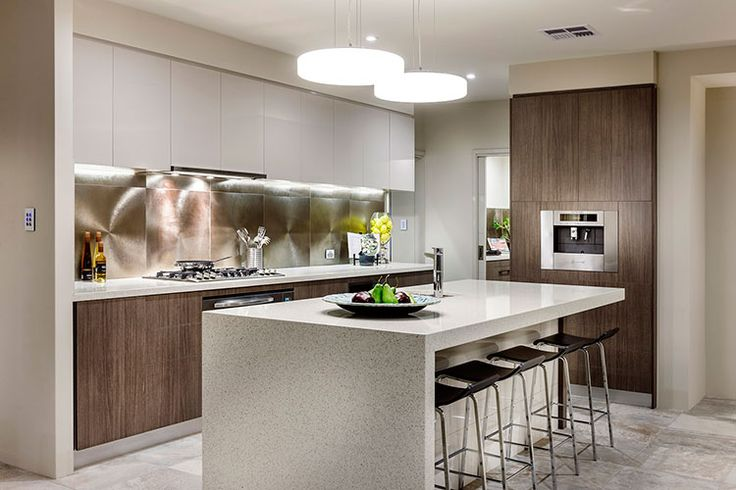 Switch homes banksia display amazing kitchen goes for Modern home decor photo gallery