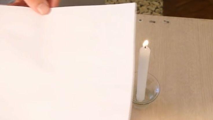 O vídeo do Manual do Mundo mostra passo a passo de como fazer em casa ou na escola a incrível tinta invisível que só aparece ao entrar em contato com o fogo.