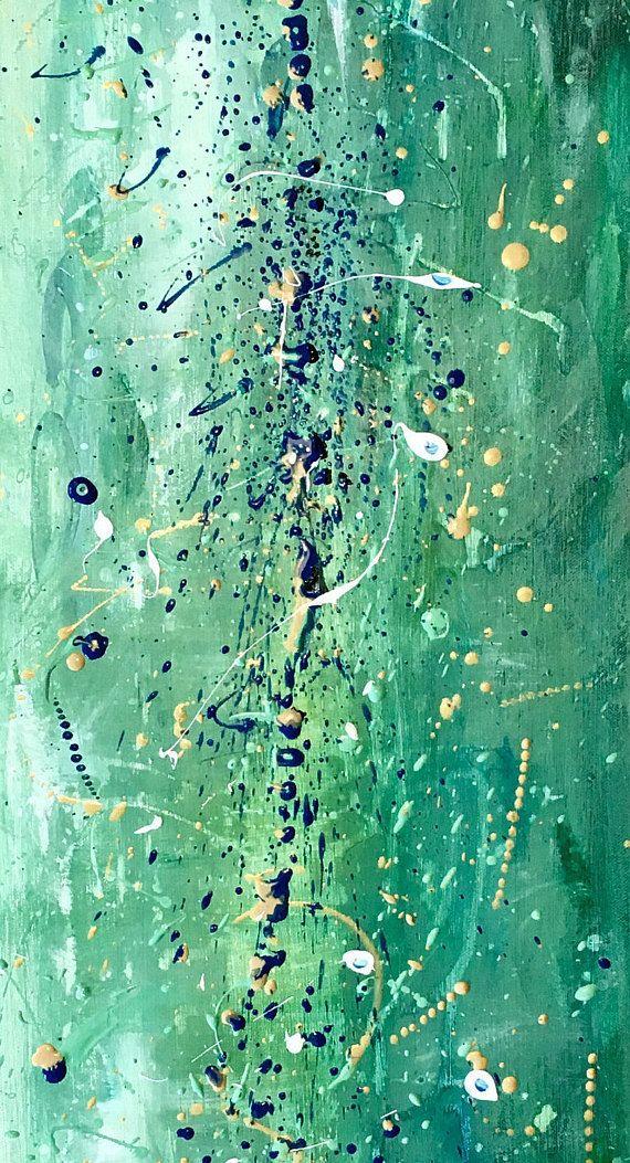 Peinture originale créée dans mon atelier, à Paris, France.   Qualité - Toile en lin tendue sur châssis en bois. Des peintures acryliques de qualité professionnelle et médiums. Les toiles seront protégées dune couche de vernis mat avant lenvoi pour protéger de la poussière, de la lumière UV, et de l'humidité.  Expédition - Je me charge de lachat du matériel demballage, de lemballage du tableau et du dépôt dans le bureau de poste local. Le tableau sera protégé sur les quatre coins, face avant…