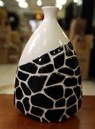 resultado de imagen de jarrones decorativos - Jarrones Decorados