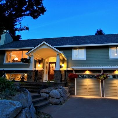 Raised Ranch Exterior Design Google Search Craftsman