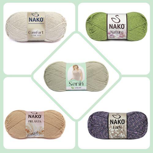 Nako Klasik  Nature / Serin / Comfort / Lady / Pırlanta