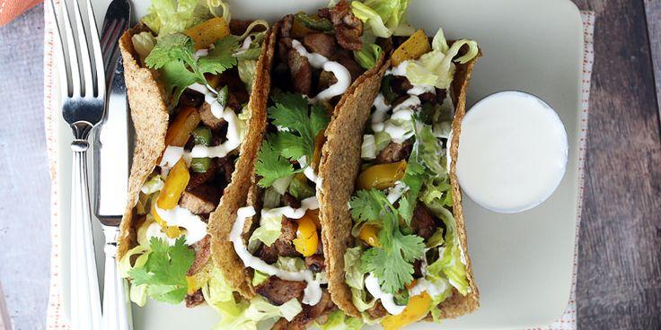 Pork Carne Asada Tacos   Ruled Me