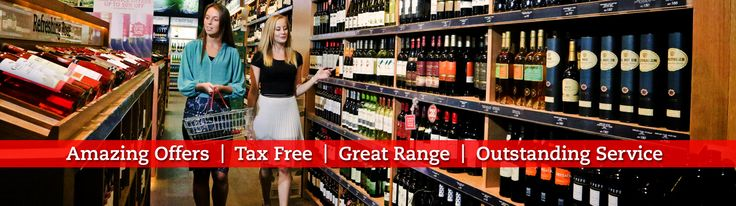 A great place to shop for all of your favourite wines, beers and spirits. Tax Free and no licence required.
