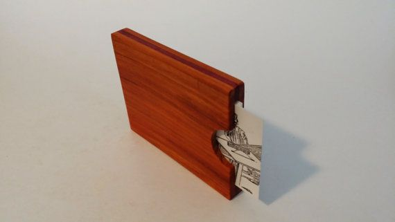 Purpleheart and Chatke Viga wallet Credit card business card