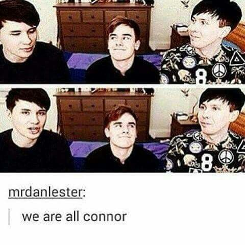 Connor is me if i ever meet dan and phil <3