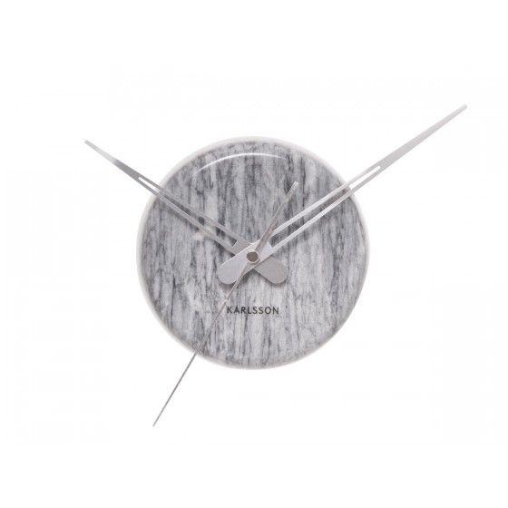 Horloge Karlsson Marbre Grise