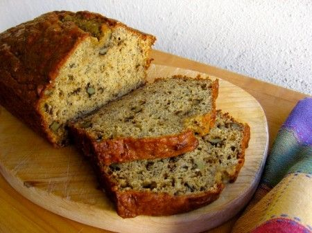 Healthy Low Fat Banana Nut Bread | Recipe | Bread recipes ...
