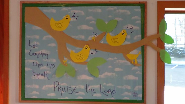 welcome bulletin board ideas for church