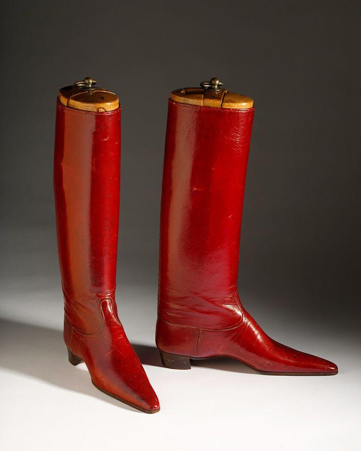 Men's red boot