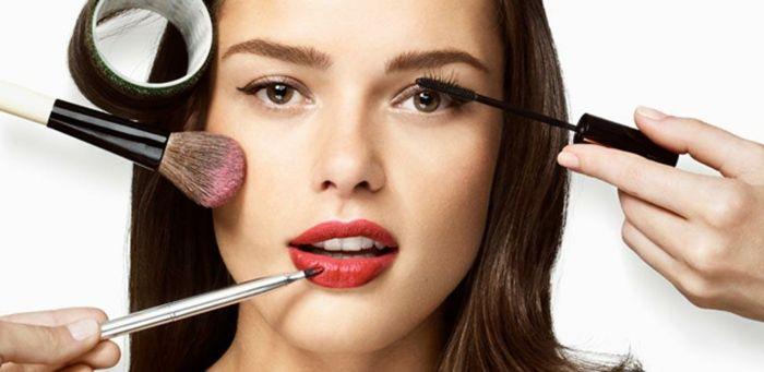 dezent schminken am abend kann man auch mehr make up verwenden tages make up darf aber nicht krass sein