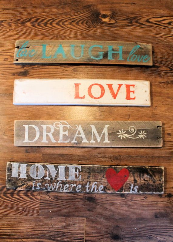 Pallet Sign  Various by LimeLightLove on Etsy, $18.00