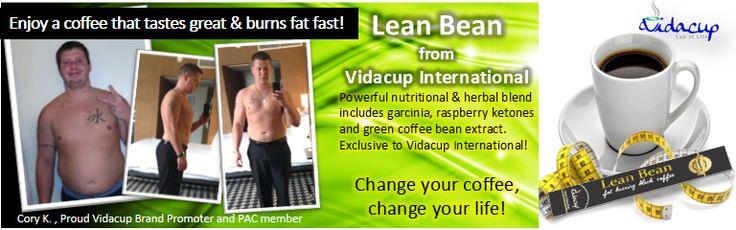 Vidacup Lean Bean Fat Burning Coffee