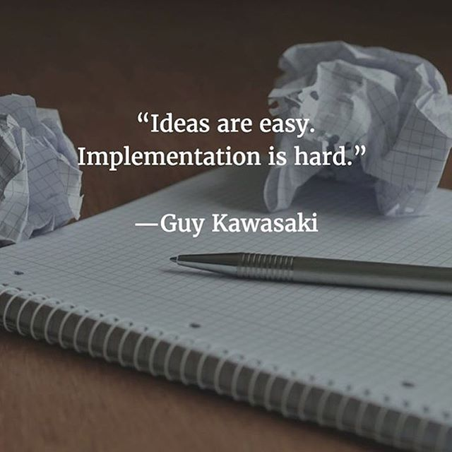 What Ideas are you implementing this week? . Share with us below!