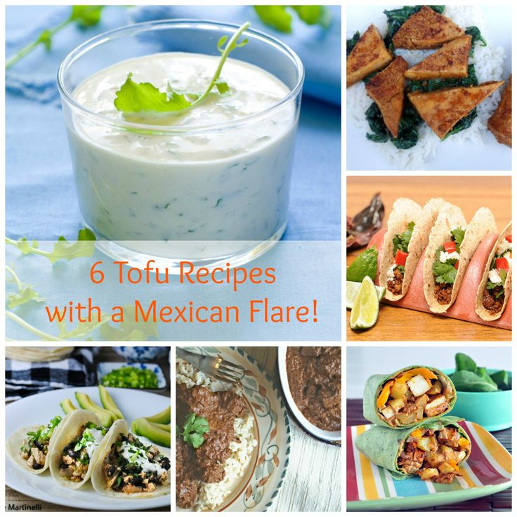 You enjoyed our Buffalo Tofu Recipe so much that we bring you now 6 Tofu Recipes with a Mexican Flare perfect for a healthy fiesta!