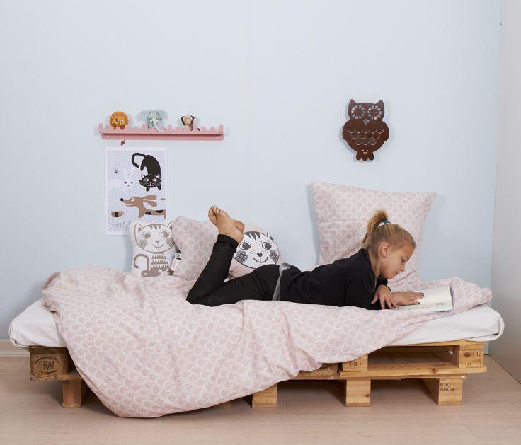 SoulMate Cat bedding by roommate. www.roommate.dk #roommatedk #organicbedding