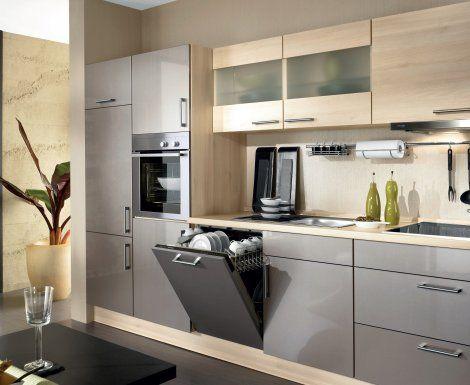 Moderní designová kuchyně Gloria. Kuchyně a spotřebiče jedné značky - gorenje. #kuchyně #design #interiér #domov #gorenje