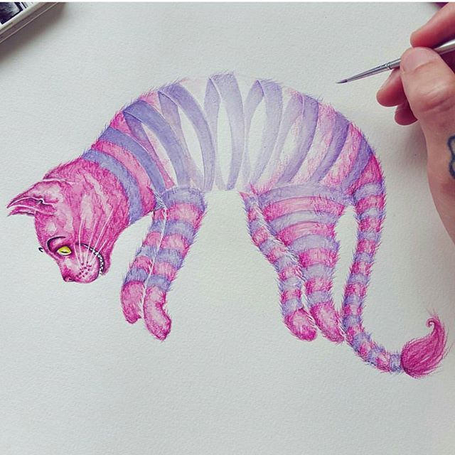 Cheshire cat was flexible