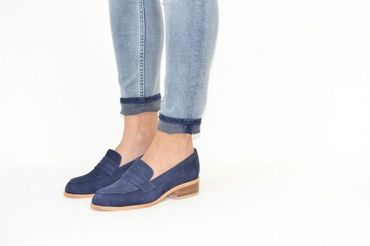 Mansfield Navy Loafer &Attorney shoes