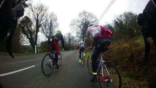 Sortie vélo avec le Club Cyclo Scaërois du dimanche 12 février 2017