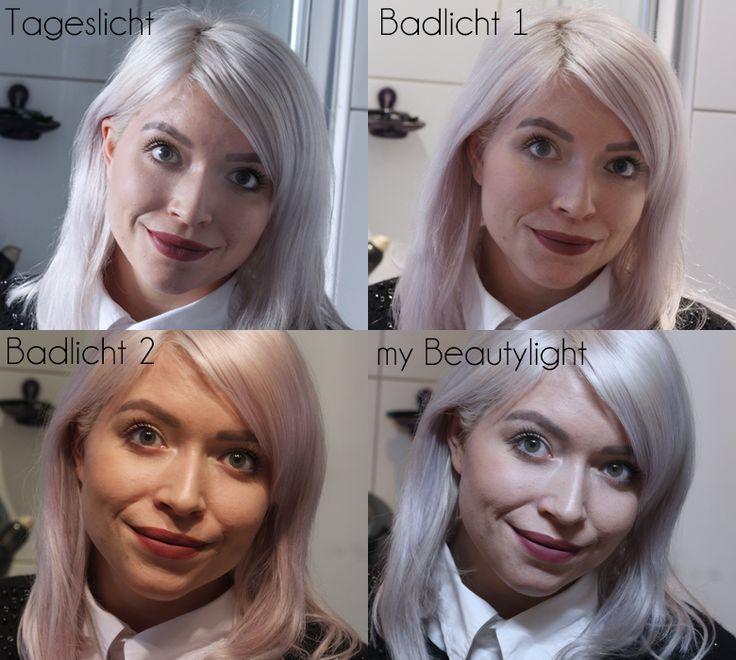 My Beauty Light Fotografie Licht Vergleich Schminken Make-Up Photography