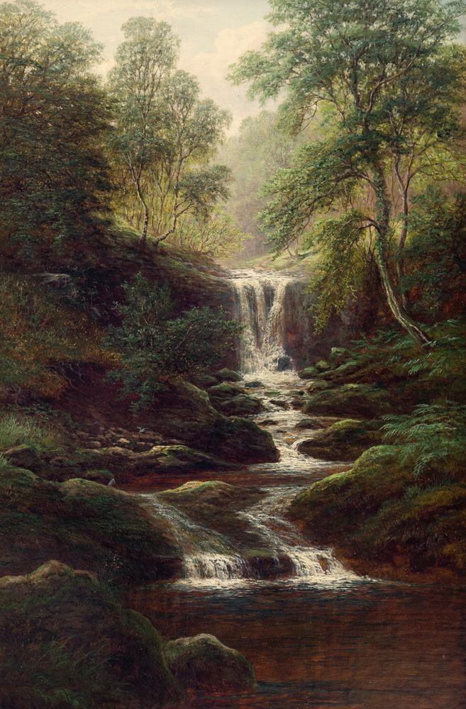 William Mellor - Helks Ghyll near Pateley Bridge, Yorkshire