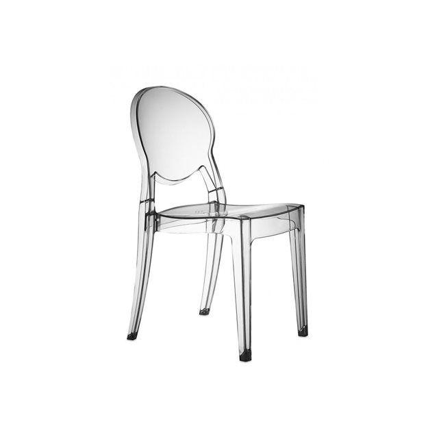 achetée- Chaise design - IGLOO - deco originale Noir
