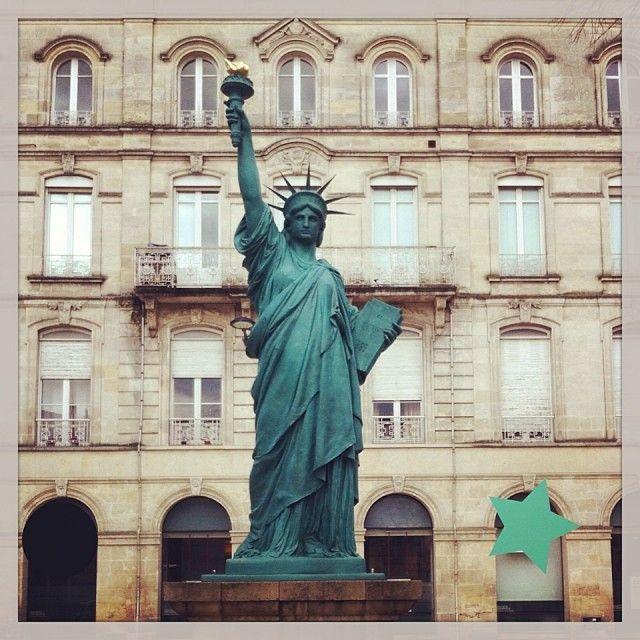 Statue de la Liberté - Bordeaux, France