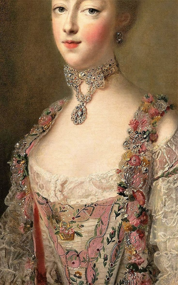 Marie Antoinette as Dauphin of France by Francois Hubert Drouais, 1772