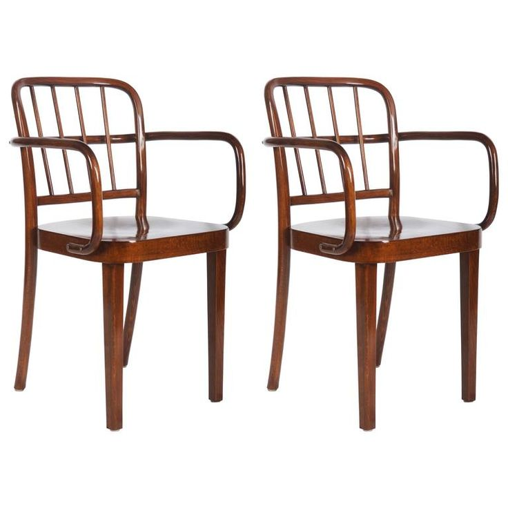 Set of Two Thonet Dining Armchairs by Josef Frank | 1stdibs.com