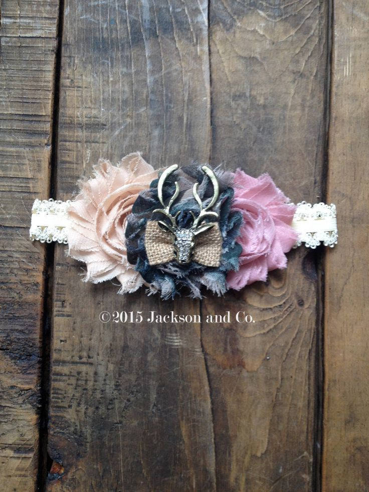 1000 Ideas About Shabby Chic Headbands On Pinterest