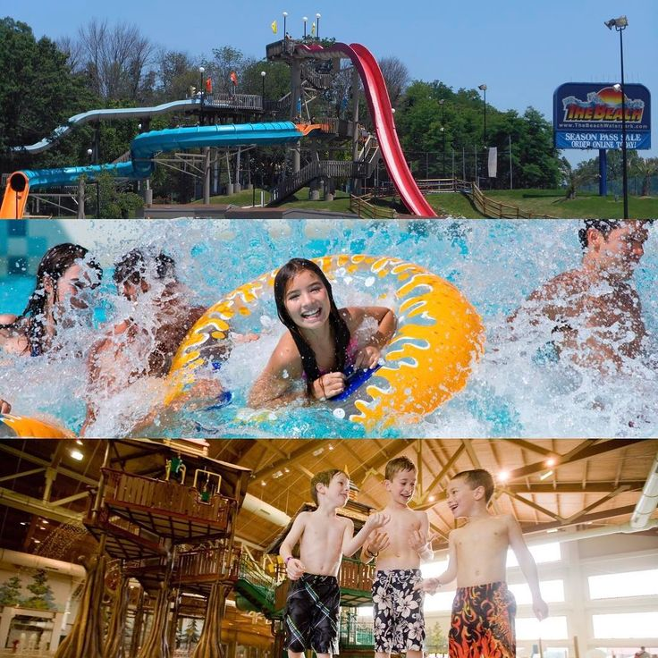 We're excited to splash and slide into summer - it's not too far away!! DYK that Ohio's Largest Playground® has three great waterparks?? Be sure to check out The Beach Waterpark, Soak City at Kings Island, and Great Wolf Lodge!