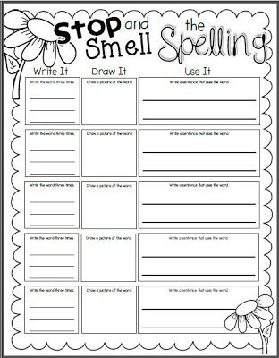 Printables Spelling Words Worksheet 1000 ideas about spelling worksheets on pinterest word free i do not believe that giving students a list of words and telling them to memorize it for test is super effective think