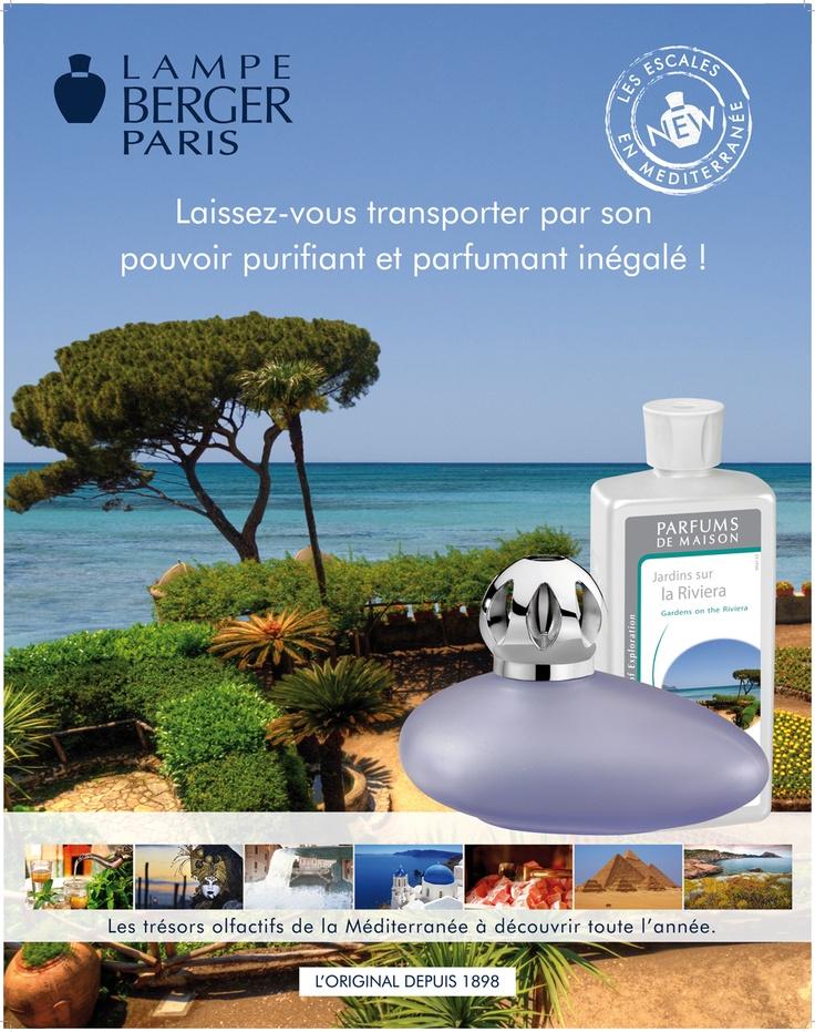 Jardins sur la Riviera. Laissez-vous transporter par son pouvoir purifiant et parfumant inégalé.