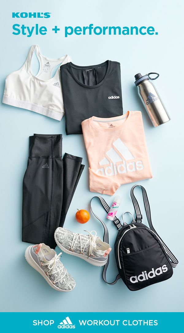deeab0be74cf7 Find adidas workout clothes at Kohl's. We've got women's performance tees,  logo