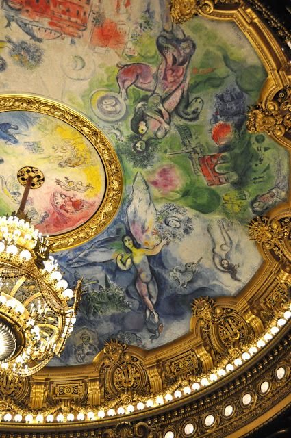 Marc Chagall -- Paris Opera House